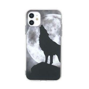 Gray Wolf Print iPhone 11 Pro Max Case 🐺